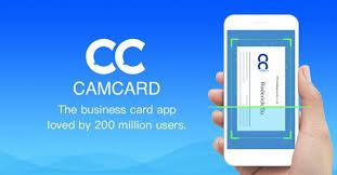 Camcard Est Une Application Mobile Disponible Sur Android Et IOS Qui Permet De Numeriser Les Cartes Visite Cet Outil Tres Efficace Dans La