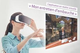 Simulateur d'entretien d'embauche VR